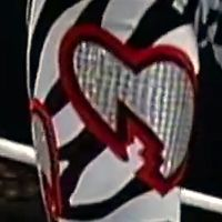 Hearts: Zebra w/ Silver & Red